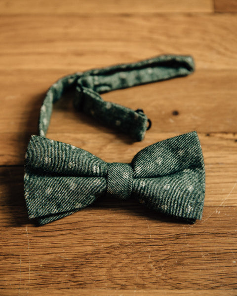 The Dot Bow Tie - Forest - Shop Stay Classic - 2