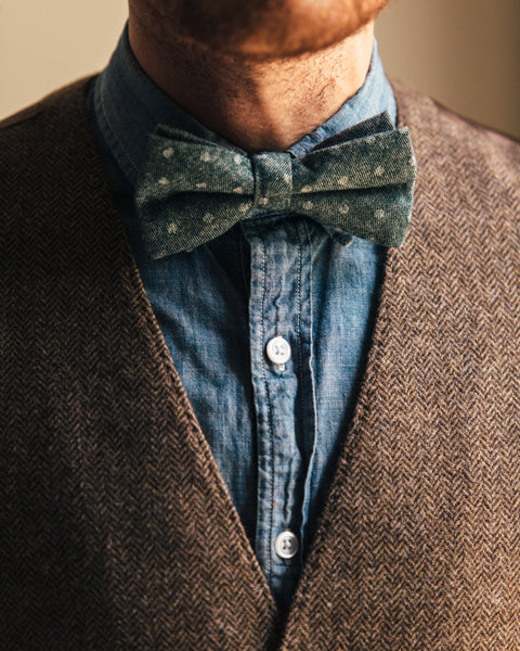 The Dot Bow Tie - Forest - Shop Stay Classic - 1