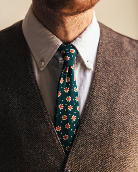 The 1969 Skinny Tie - Forest - Shop Stay Classic - 1