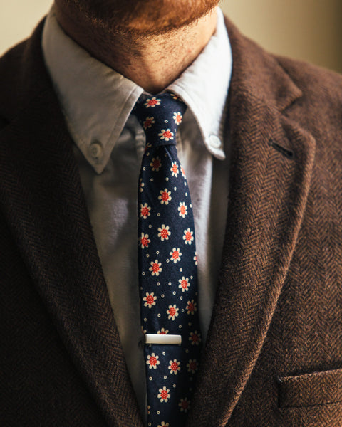 The 1969 Skinny Tie - Navy - Shop Stay Classic - 1