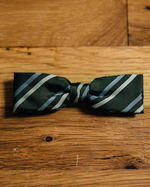 Vintage Forest Striped Bow Tie - Shop Stay Classic - 1