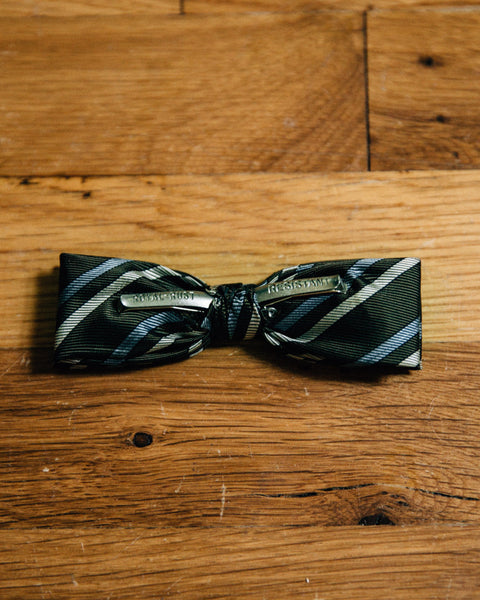 Vintage Forest Striped Bow Tie - Shop Stay Classic - 2