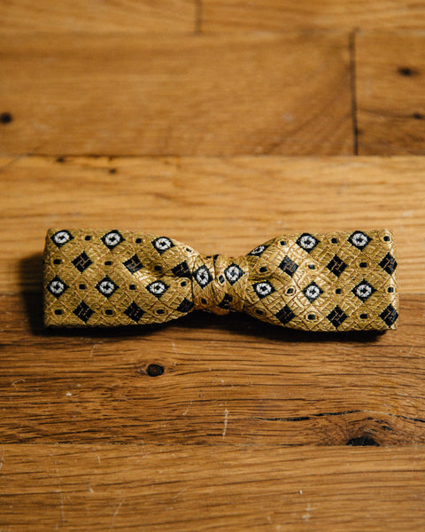 Vintage Gold Bow Tie - Shop Stay Classic - 1