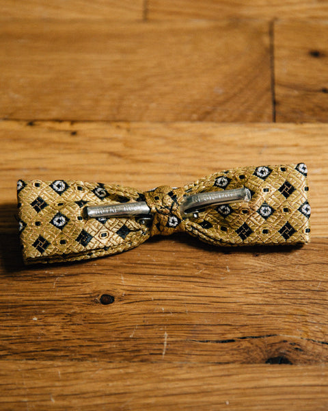 Vintage Gold Bow Tie - Shop Stay Classic - 2
