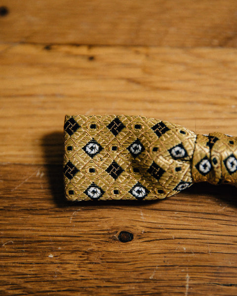Vintage Gold Bow Tie - Shop Stay Classic - 3