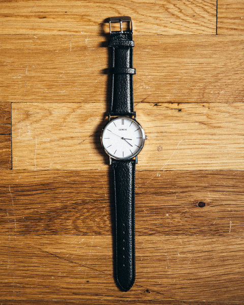 The Vegan Minimalist Watch - Black - Shop Stay Classic - 1