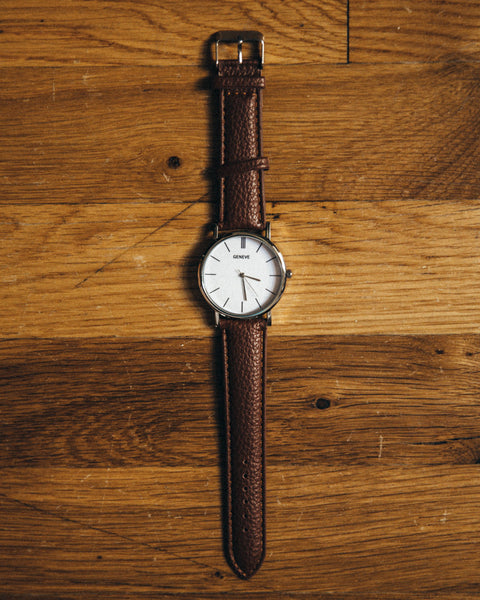 The Vegan Minimalist Watch - Brown - Shop Stay Classic - 1