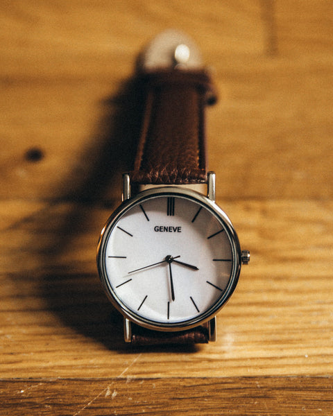 The Vegan Minimalist Watch - Brown - Shop Stay Classic - 2