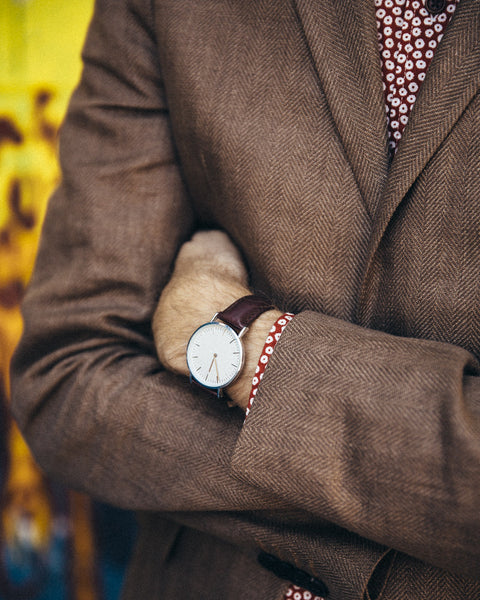 The Minimalist Leather Watch - Brown - Shop Stay Classic - 3