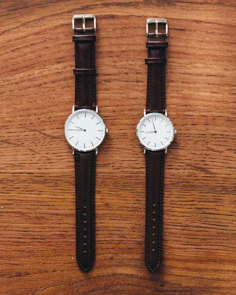 The Minimalist Leather Watch - Brown - Shop Stay Classic - 1