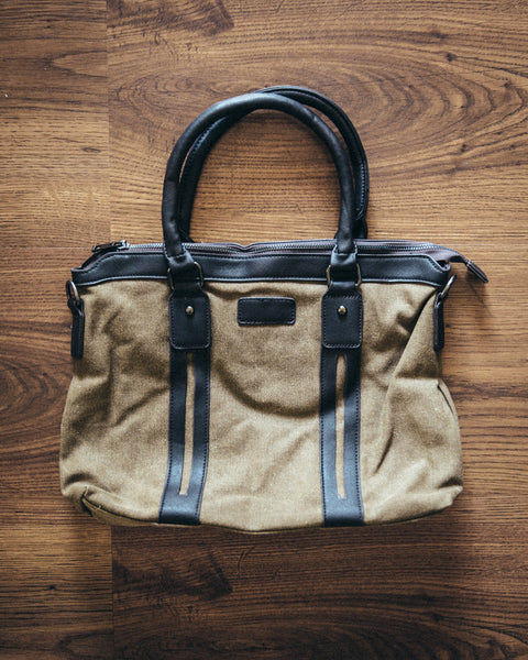 The Canvas Messenger Bag - Shop Stay Classic - 1
