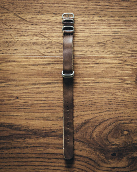 Leather NATO Watch Strap - Shop Stay Classic - 1