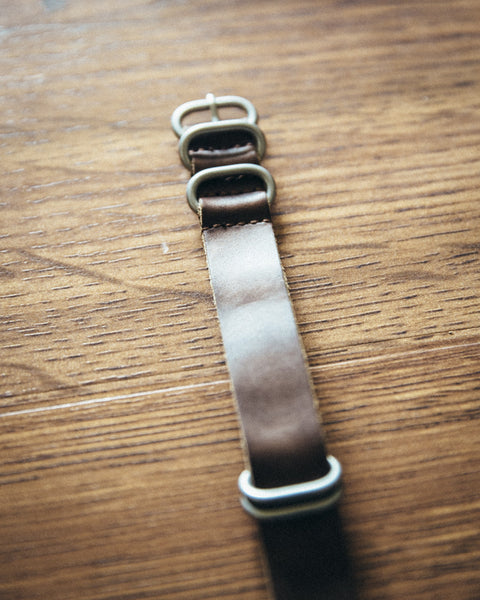 Leather NATO Watch Strap - Shop Stay Classic - 2