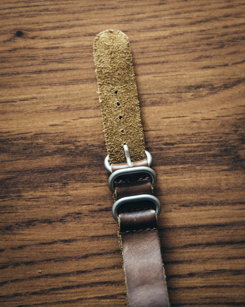 Leather NATO Watch Strap - Shop Stay Classic - 3