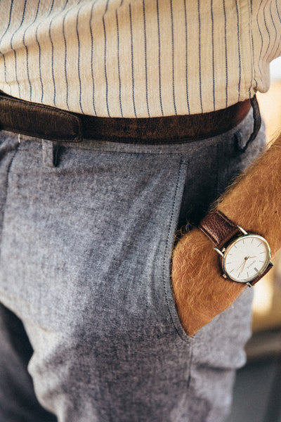 The Vegan Minimalist Watch - Brown - Shop Stay Classic - 7