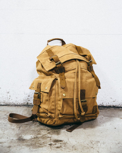 The Canvas Backpack - Shop Stay Classic - 1