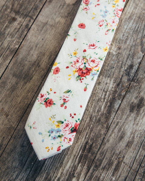 The English Garden Skinny Tie