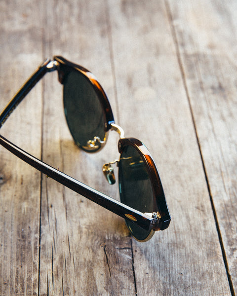 The Round Clubmaster Sunglasses