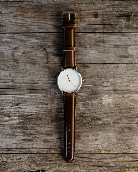 The Ultra Minimalist Leather Watch
