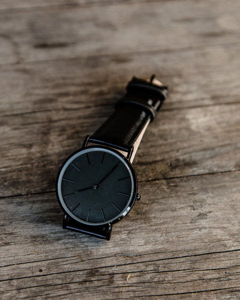 The Blackout Minimalist Watch