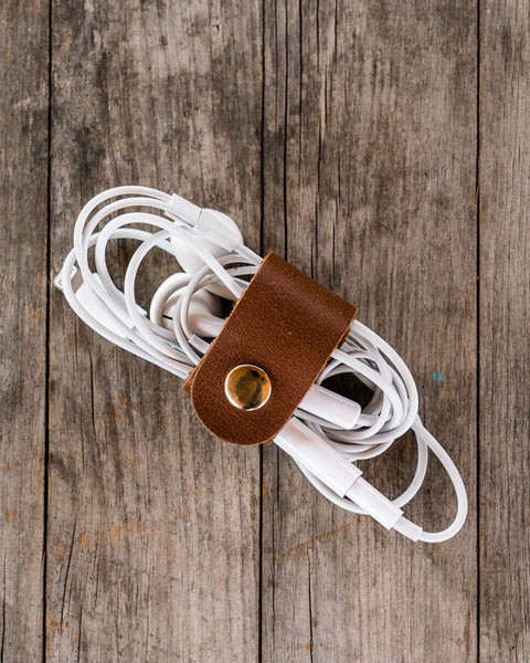 Leather Cable Wrap