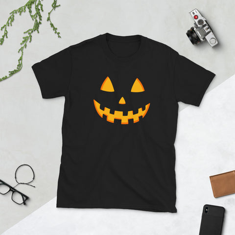 Image of Scary Pumpkin Unisex T-Shirt