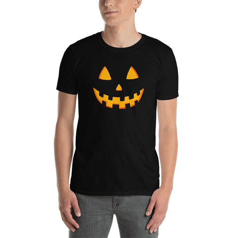 Scary Pumpkin Unisex T-Shirt