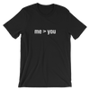 YOCN me > you Tee for Men (black)