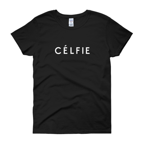 YOCN Celfie Tee for Women (black)