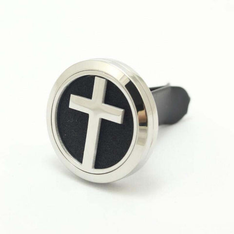 Cross Aromatherapy Car Diffuser 30mm
