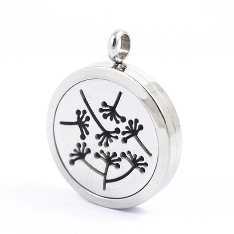 Dandelion Essential Oil Diffuser Pendant Necklace