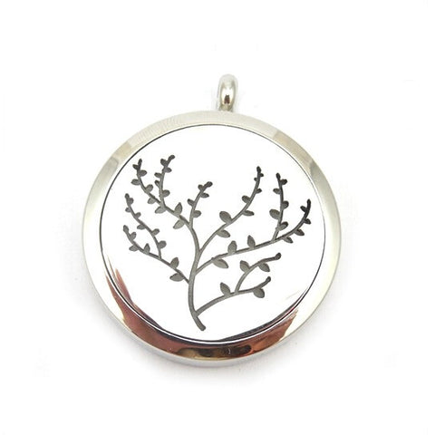 Cherry Blossom Aromatherapy Diffuser Necklace