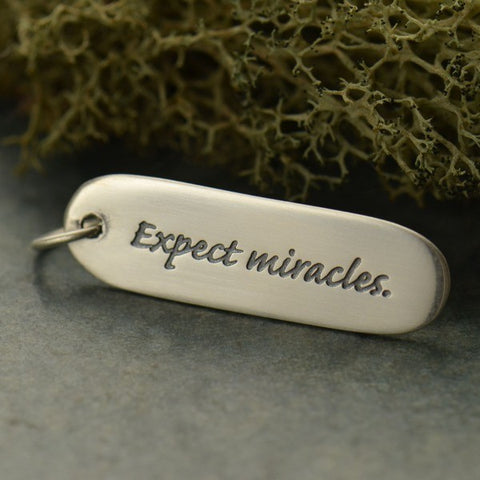 Expect Miracles Pendant Necklace
