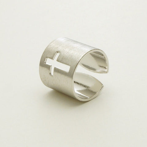 Unique Wrap Cross Ring