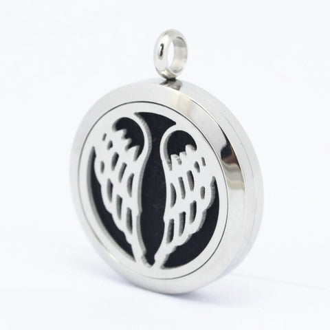 Angel Wing Aromatherapy Diffuser Necklace