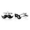 Crucible Men's High Polished Mustache Cuff Links