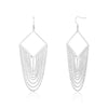ELYA Stainless Steel Chandelier Earrings