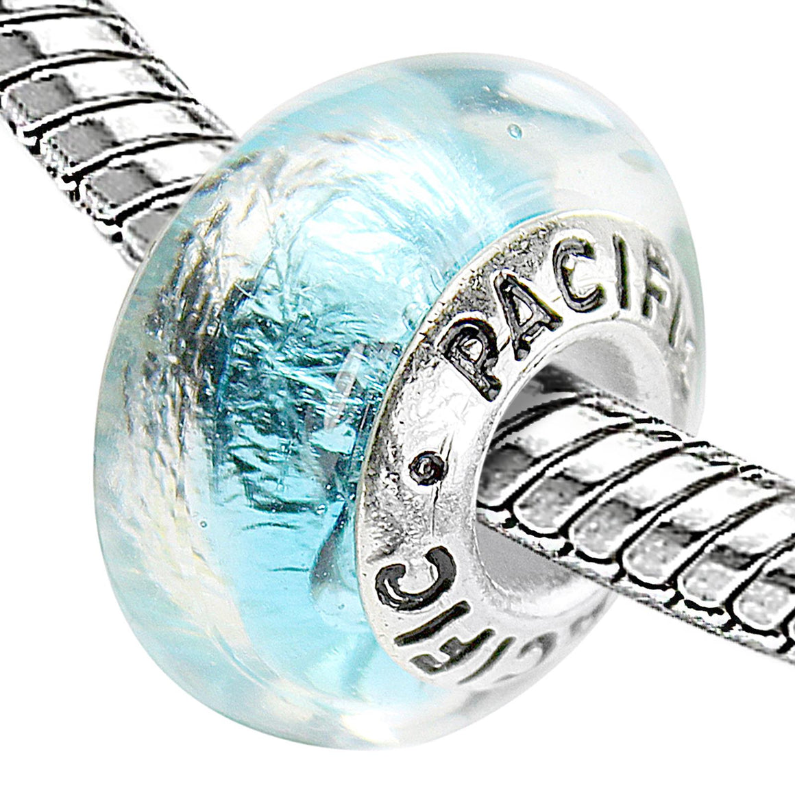 925 Sterling Silver Murano Glass Bead - Mesmerize