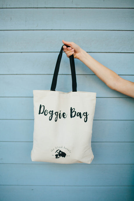 Canvas Doggie Bag
