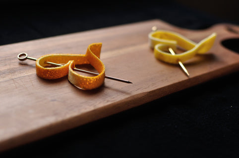 How To Make A Heart Shaped Garnish