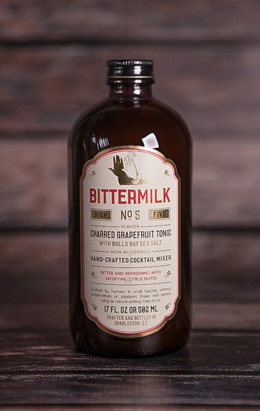Bittermilk- No. 5 Charred Grapefruit Tonic