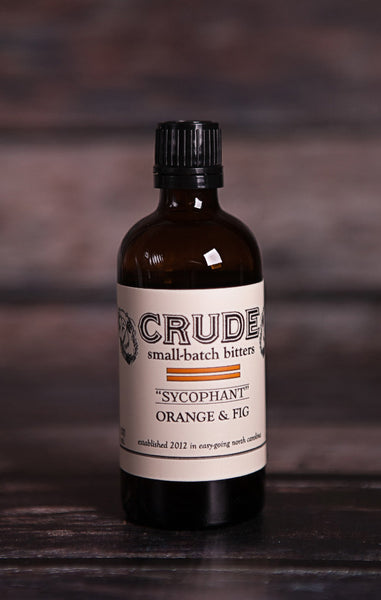 Crude Bitters- Sycophant (Orange & Fig)