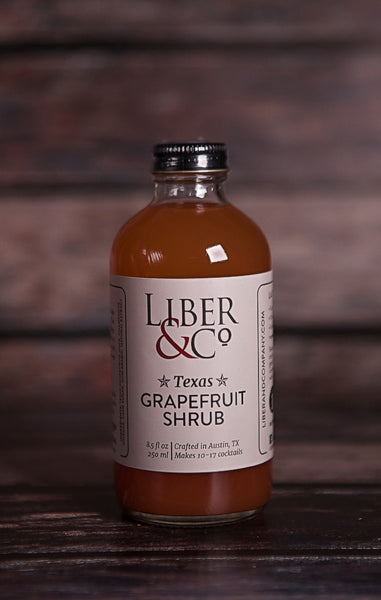 Liber & Co.- Texas Grapefruit Shrub