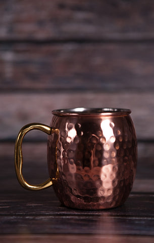 Hand Hammered Moscow Mule Mug