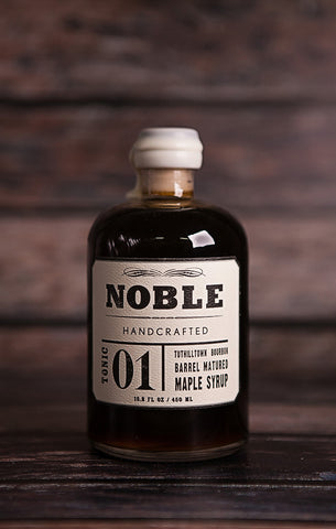 Noble Handcrafted Syrup- Tonic 1: Tuthilltown Bourbon Barrel Matured Maple Syrup