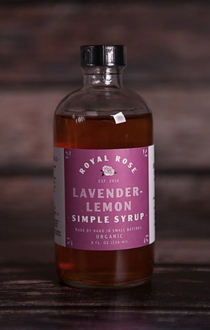 Royal Rose Syrups- Lavender-Lemon Syrup