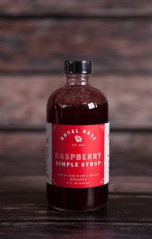 Royal Rose Syrups- Raspberry Syrup