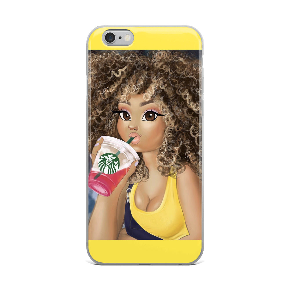 Curly Babe - iPhone Case