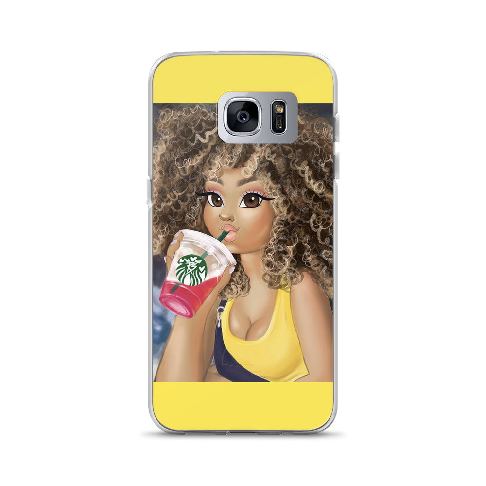 Curly Babe - Samsung Case