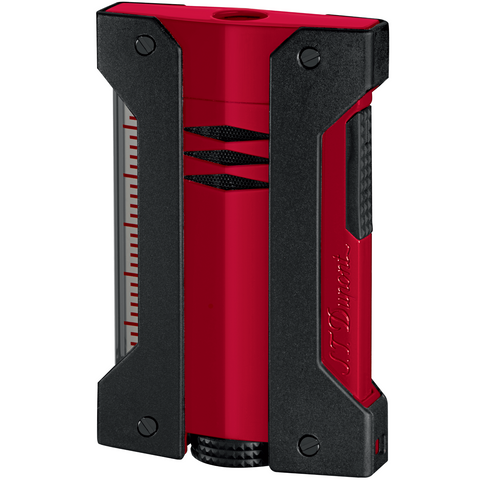 S.T. Dupont Defi Extreme Single Torch Red and Black Cigar Lighter 21402